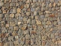 Muro piedras escalar en Tlaxco