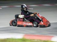 Go Karts on track