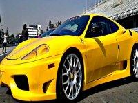 You can drive a Ferrari