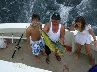 Pescando en altamar