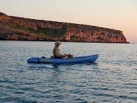 Paseando en los kayaks