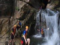 Adrenalina y cascadas