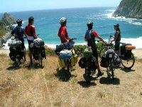 Rutas ciclistas en paisajes