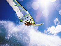 Windsurf with waves