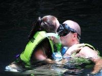 Snorkel en pareja