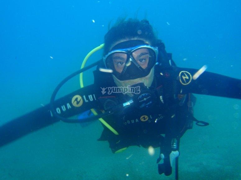 Dive in Yucatan
