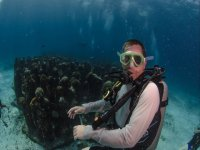 Excursión de buceo 2 tanques en Isla Mujeres