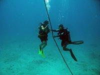 Salida de caza con buceo en Isla Mujeres 2 tanques