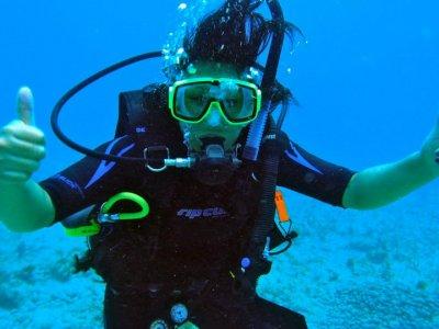 Aventura de buceo para fotografiar Pez Vela