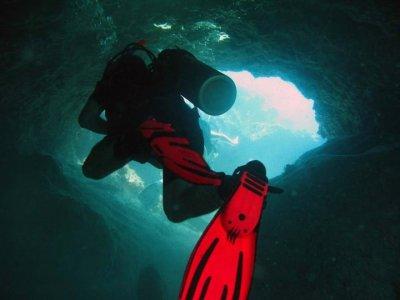 2 tanques de buceo cenote y cavernas Riviera Maya