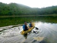 Kayak in mangroves