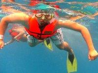 Tour de snorkel de 2 horas en Isla Mujeres