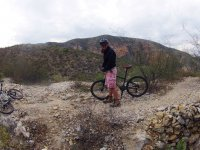 Cycling and exploring magical places