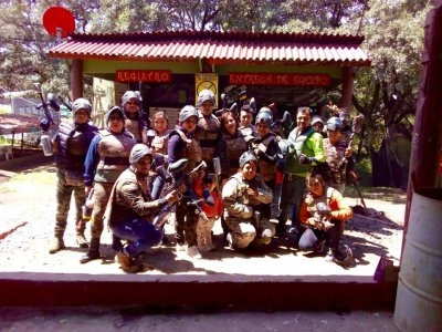 Box 2000 balls of paintball 10 people in Chiluca