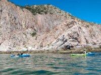 Campamento y kayak