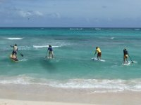 Inicio de la ruta de paddle surf