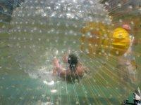 inside the sphere