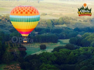 Special price for a balloon flight in Huasca