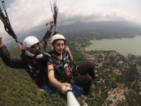 Paragliding flight will not forget you