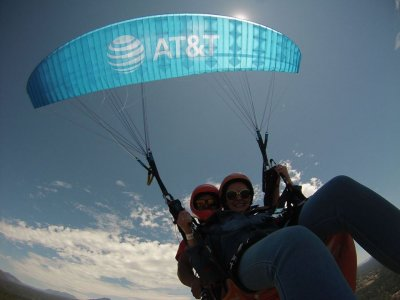 Paragliding + cimbing + abseiling in Valle