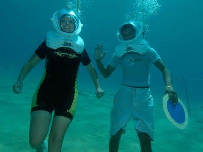 Sea Trek Tour: walk at the bottom of the ocean