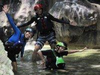 canyoning tour