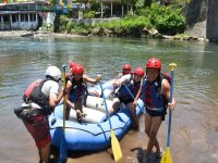 prepared for rafting