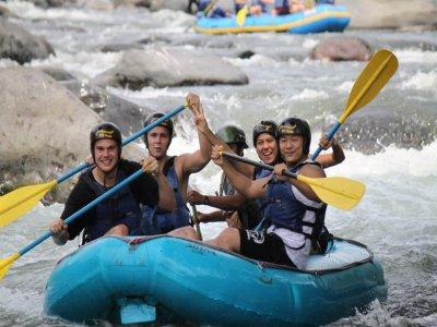 Rafting y actividades 2 días + alimentos