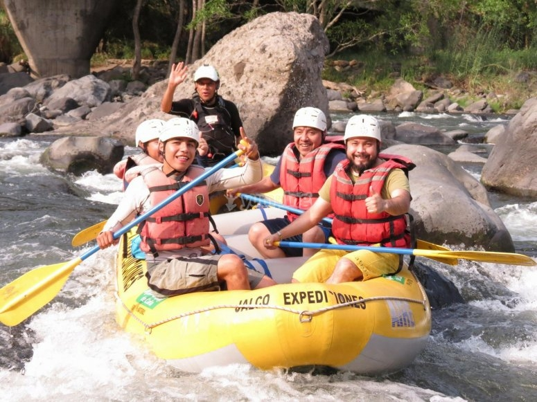 Adrenaline during the rafting descent
