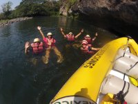 enjoy rafting