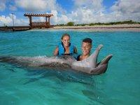 Nado con delfines y parque Xenses en La Riviera