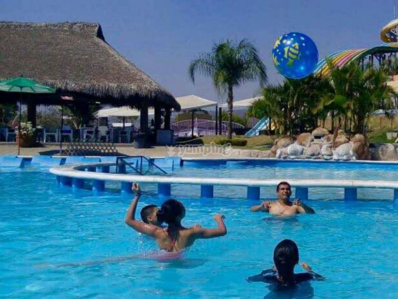 Refresh yourself in our pool