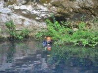 Caving diving