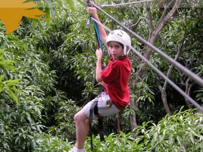 3 days zip wire package in Jalcomulco
