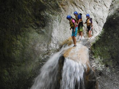 Package Canyoning + Rappel in Jalcomulco