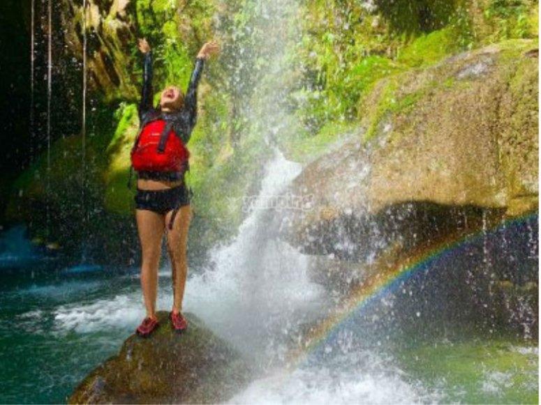 Waterfalls in Huasteca Potosina