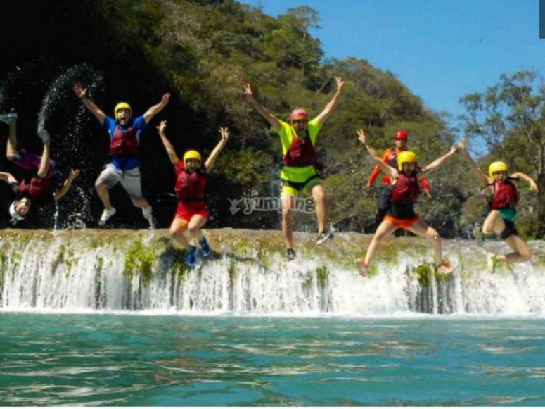 Salto cascada Micos