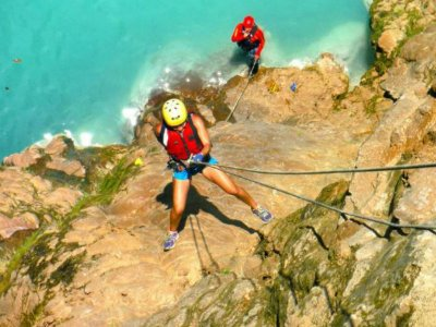 3 days tour of rafting + rappel, Huasteca