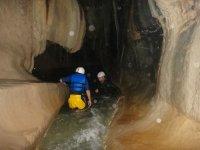 Interior of caves
