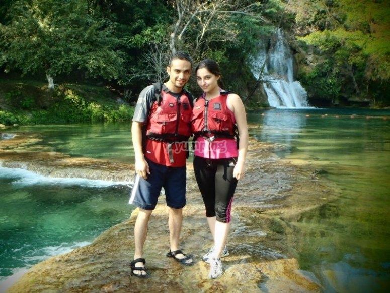 Visit waterfall