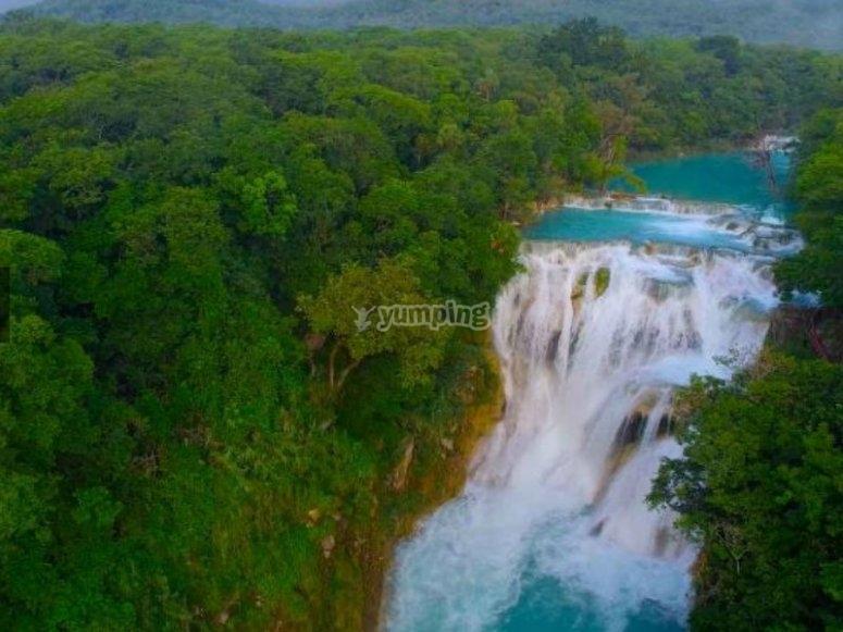 Waterfalls Huasteca Potosina