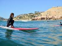 Disfrutando de paddle