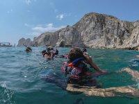 Snorkel en Grupo