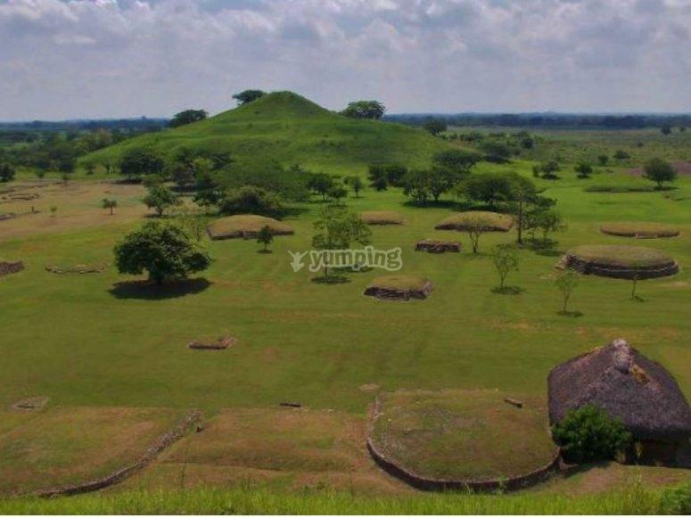 Zona Arqueologica en San Luis Potosi