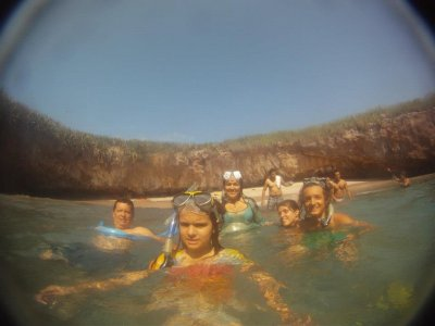 Snorkel tour for children Marietas Islands