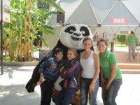 Acceso al parque Natural Adventure en Tlajomulco
