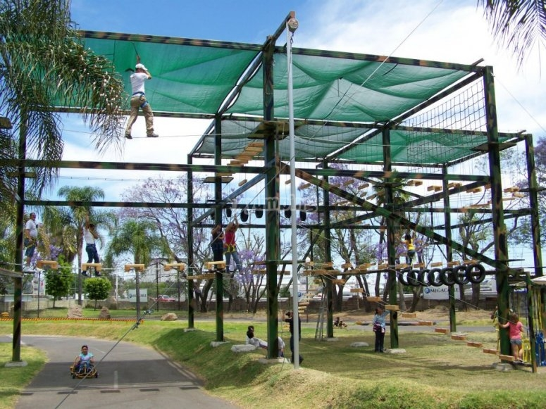 The ropes course