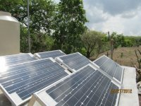 Photo-voltaic system of the ecoclub