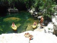 Kayaks in Riviera Maya