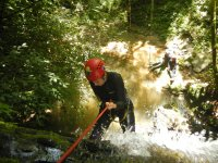 Canyoning in La Carbonera